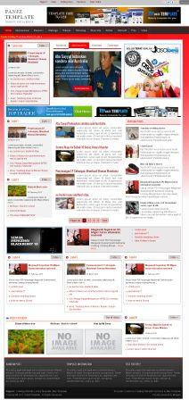 Panjz Blogger Template