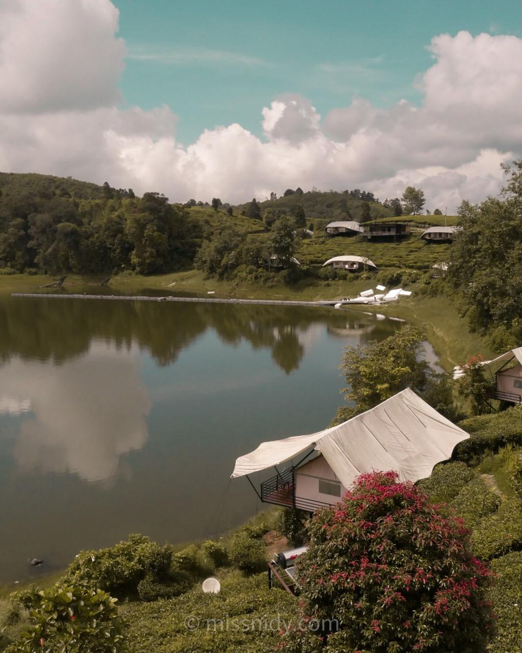 glamping lakeside rancabali ciwedey