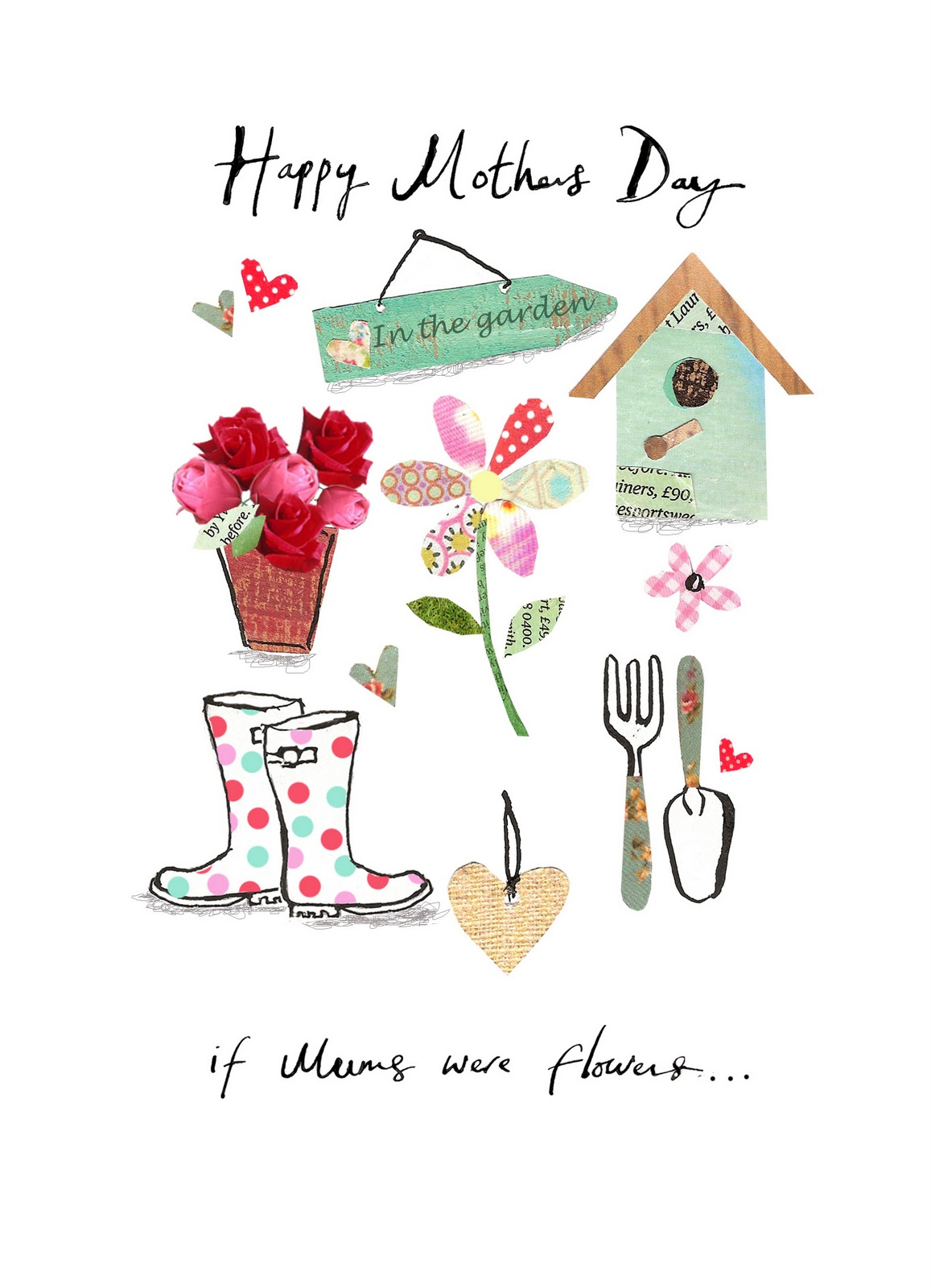 Clare Fennell Illustration: Mother's Day card in Marks and ...