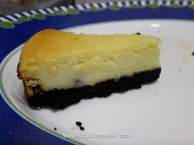 Baked Blueberry Cheese Cake recipe 香烤藍莓芝士蛋糕食譜