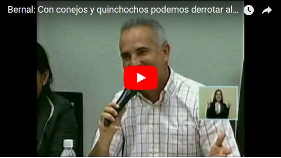 Freddy Bernal propone matar nuestras mascotas y comerlas