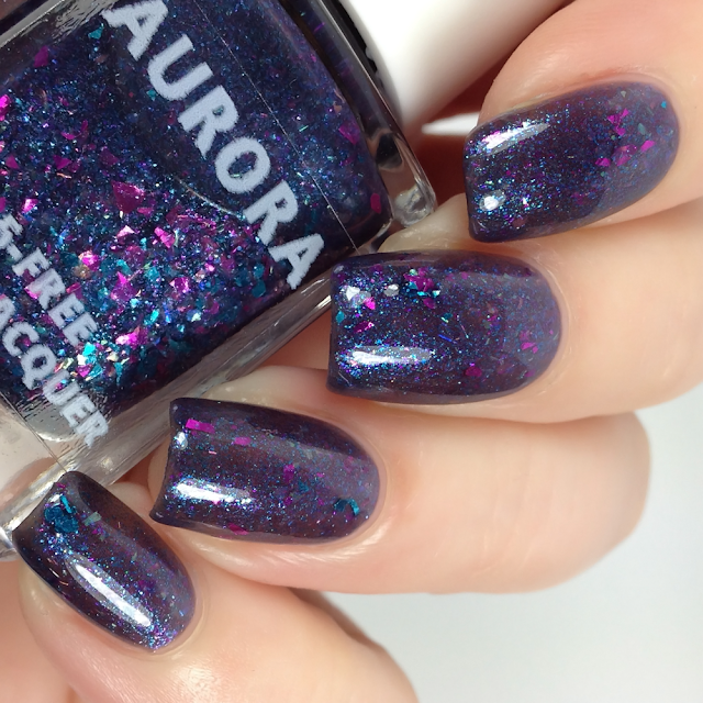 Aurora Nail Lacquer-I'm So Drunk I'm Seeing The Northern Lights