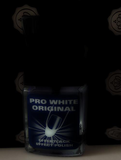 Pro White Nail Polish -GlossyBox-