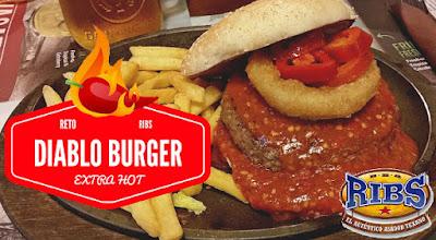 Reto Diablo Burger RIBS
