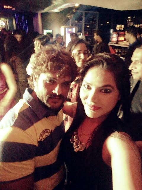 Seema Singh Hot Photo with Khesari Lal Yadav