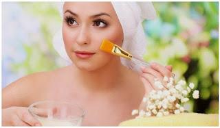 perawatan wajah dengan bahan alami
