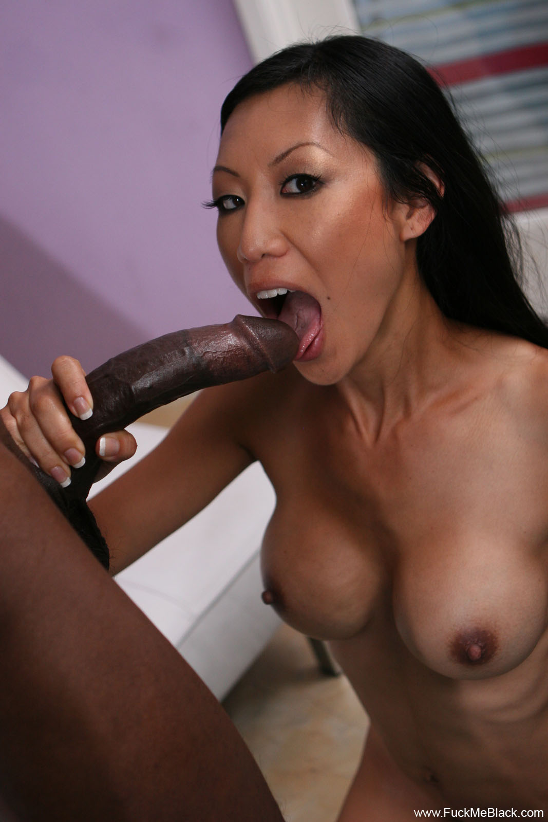 Discipline huge black cock load in asian
