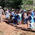 Babinsa Campa Inisiasi Gotong Royong Pembersihan Ruas Jalan di Madapangga