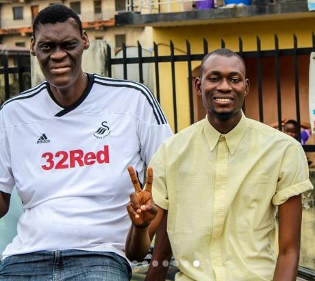 nigeria tallest model bakare mubarak
