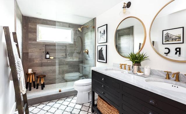 small bathroom design ideas 2020 with shower