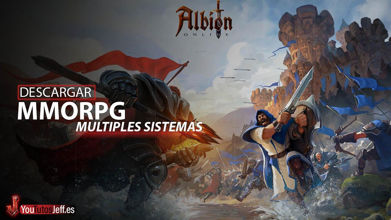 Increíble MMORPG Gratis para Múltiples Sistemas😁🔥Descargar Albion Ultima Versión