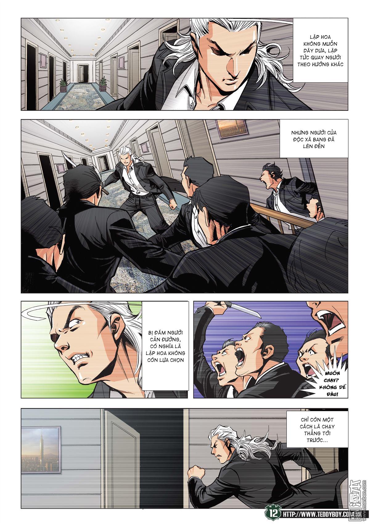 Người Trong Giang Hồ RAW chap 2070 - Trang 11