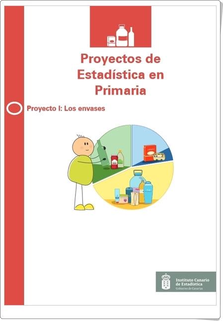 """""""Los envases"""" (Estadística en Primaria). Instituto Canario de Estadística."""