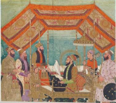 Akbar's grandson Aurangzeb