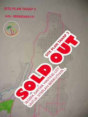 Site plan Tahap 3 Kampoeng Kurma yang sudah sold out