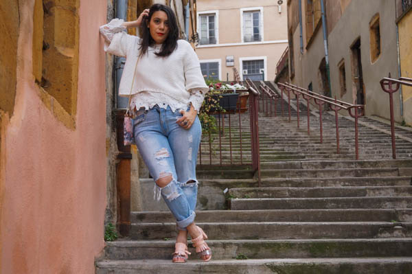 photo look en pied rue