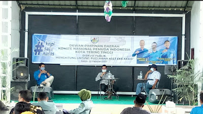 Diskusi Publik KNPI: Tolak 'Hibah' Aset Eks Akbid Pemko Tebingtinggi