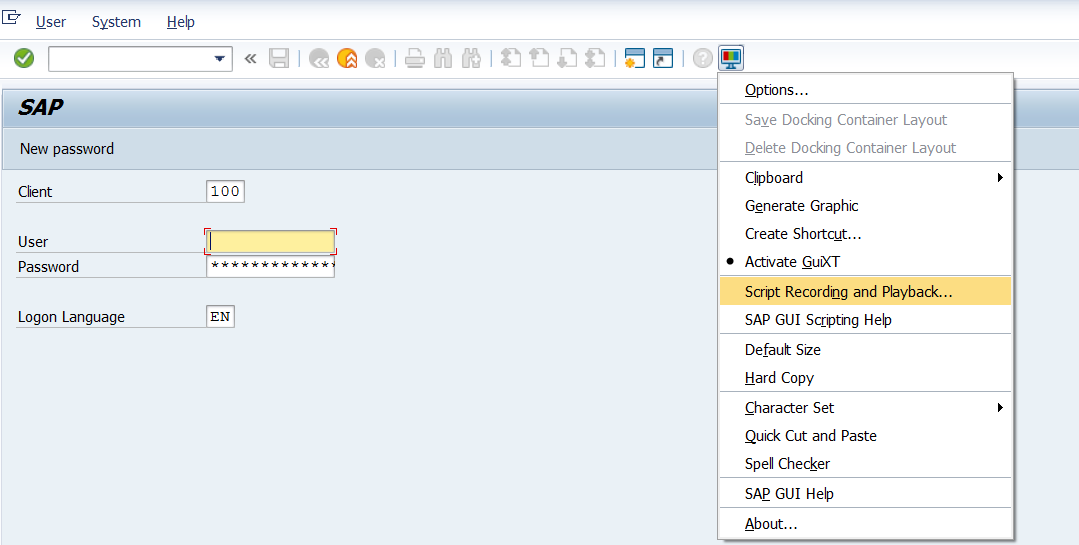 SAP GUI - Automation: SAP GUI - AUTOMATION (VBS AND JAVA)