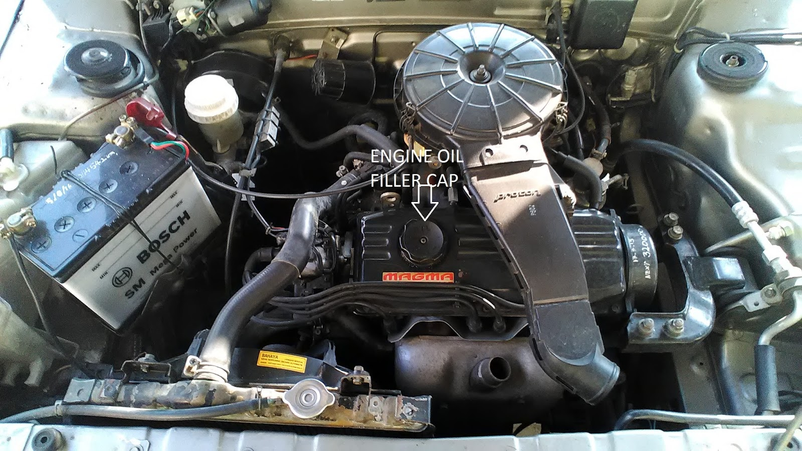 PROTON ISWARA LMST 1 3L: HOW TO CHANGE ENGINE OIL AND EO FILTER