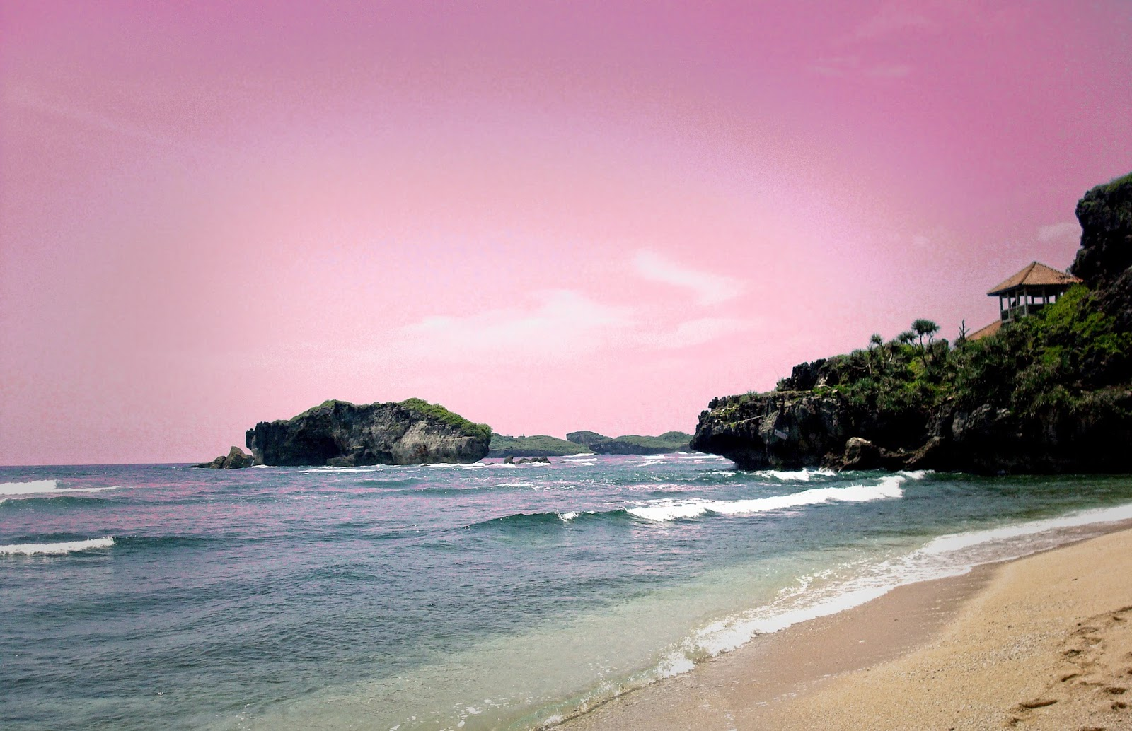 Design Photography Pink Abstract Sky Image Background Beach Photography Editing