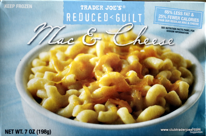 trader joe's guilt free mac and cheese