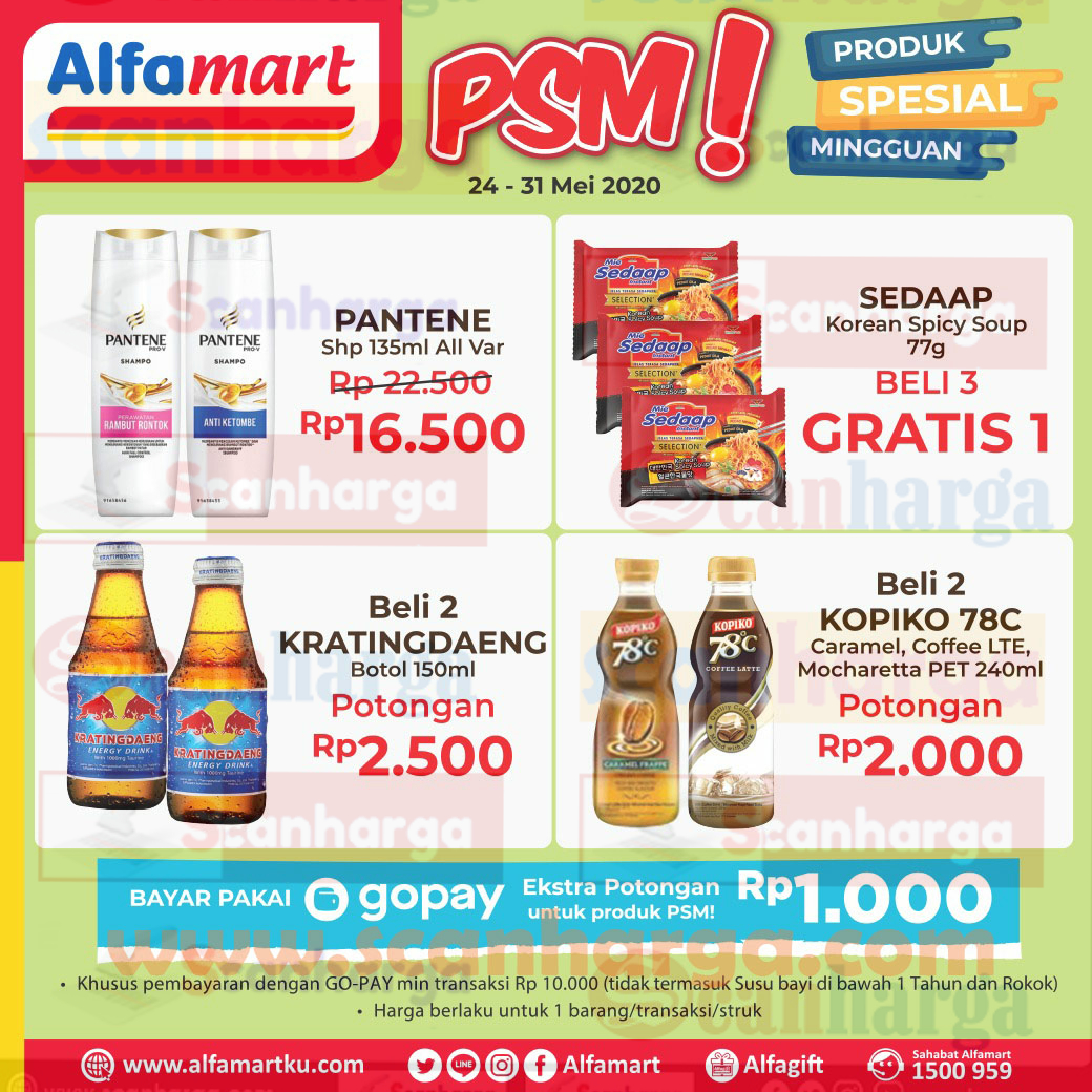 Katalog Promo Psm Alfamart Terbaru Tanggal 24 31 Mei 2020 Scanharga