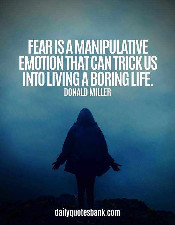 Life Quotes About Fear Of Failure