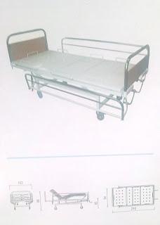 daftar harga tempat tidur rumah sakit