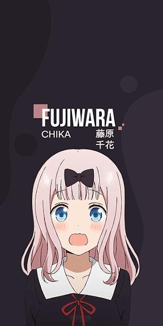 Fujiwara Chika - Kaguya-sama wa Kokurasetai: Tensai-tachi no Renai Zunousen Wallpaper