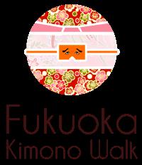 Logo de Fukuoka Kimono Walk