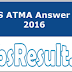 AIMS ATMA Answer Key 2016 Download 29th May Paper Keys