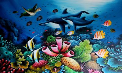 6800 Lukisan Pemandangan Bawah Laut Bergerak Gratis Terbaru