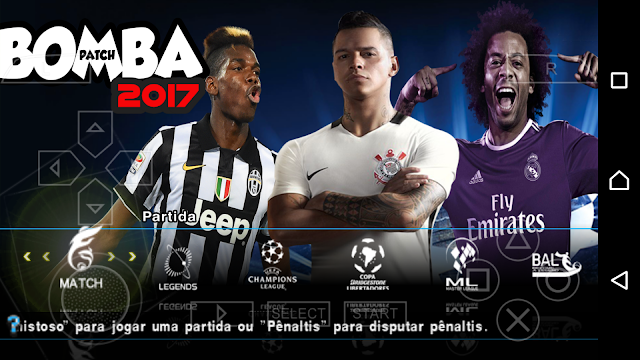 BOMBA PATCH 2017 OFICIAL para ANDROID| Futebol