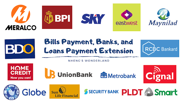 Bills Payment, Banks, and Loans Payment Extension