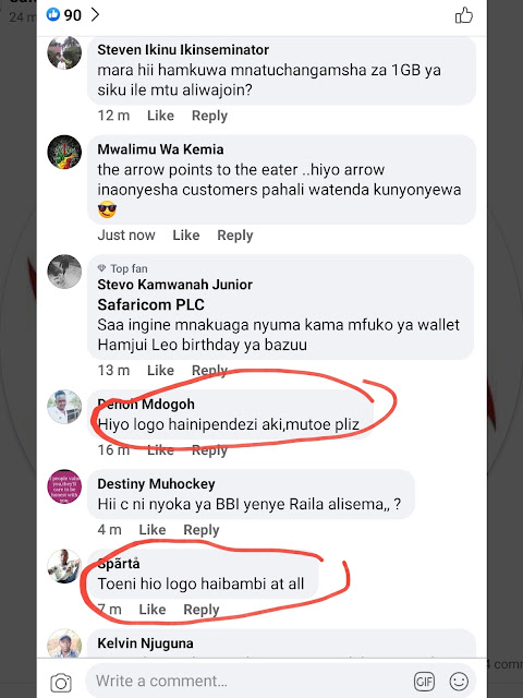Safaricom PLC Facebook