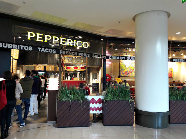Pepperico restaurant cuisine mexicaine tacos burritos centre commercial les 4 temps paris la défense