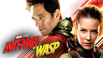 Hannah John-Kamen & Paul Rudd Ant Man and the Wasp Photos