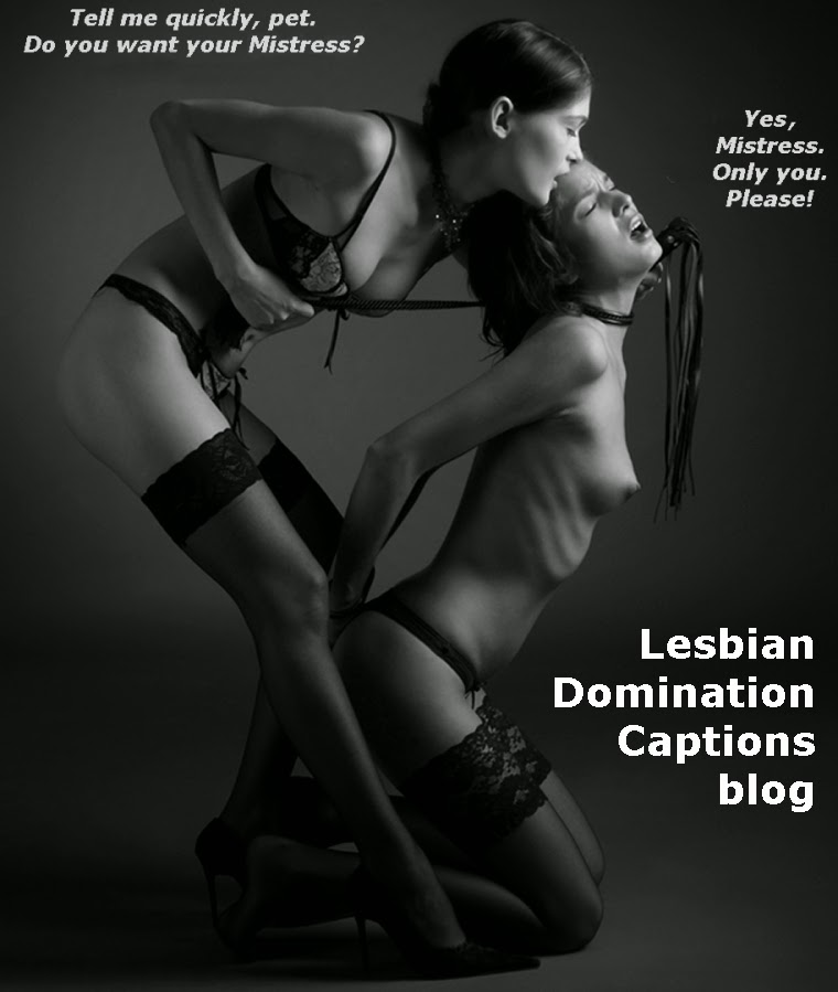 Captioned images lesbian domination