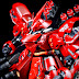 MG 1/100 Sazabi Ver. Ka with 4 Gatling Guns Set Custom Build