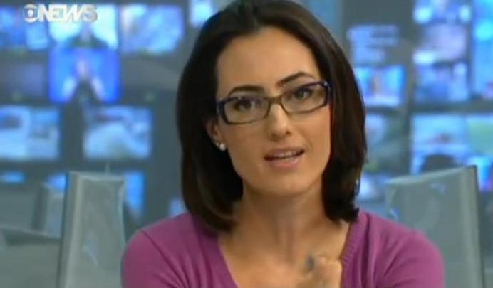 c722037b26ba6 Eu uso Óculos  Gucci na Globo News!