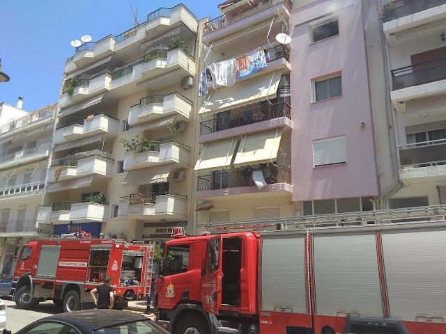 Φωτιά σε διαμέρισμα στην Ηγουμενίτσα