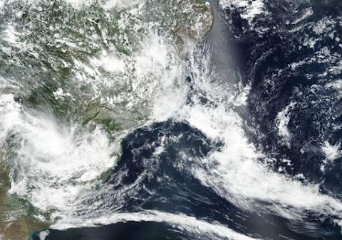 "Ciclone ""Kurumí"" poderá se formar na costa sudeste do Brasil nesta quinta"