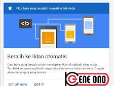 Cara Memasang Iklan Otomatis Google Adsense di Blog