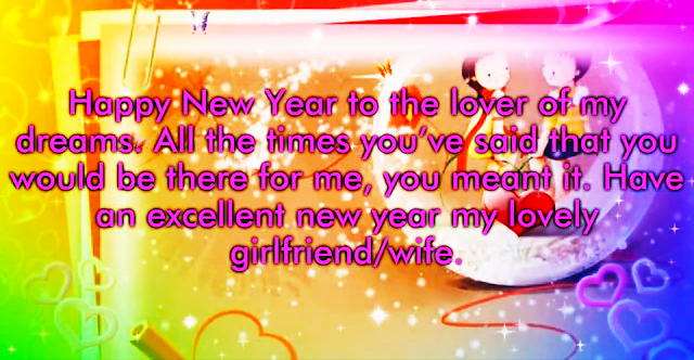 Happy New Year 2020 Greetings for Girlfriend