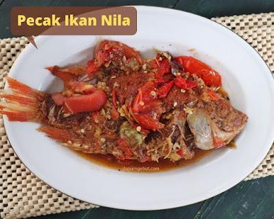 pecak ikan nila