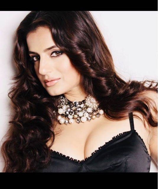 Ameesha Patel Sexy Boob Cleavage Photos