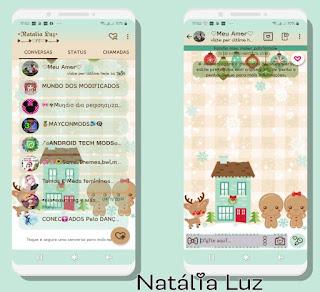 Teddy Bear & Animal Theme For YOWhatsApp & Fouad WhatsApp By Natalia Luz