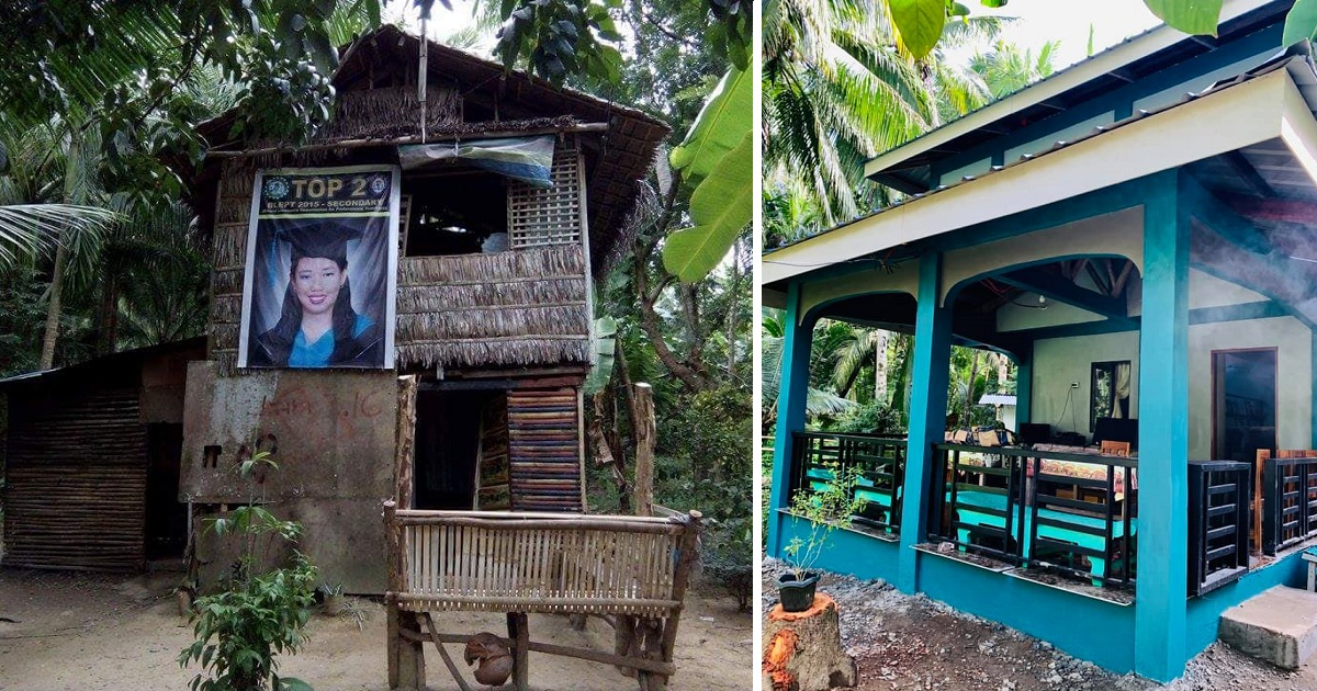Fisherman's Daughter Went Viral for Rank 2 in LET, Goes Viral Again with New House
