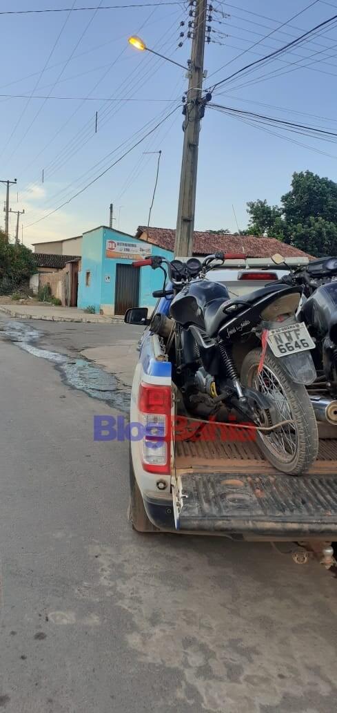 Guarda Civil Municipal de Riachão das Neves recuperam moto roubada em Cariparé