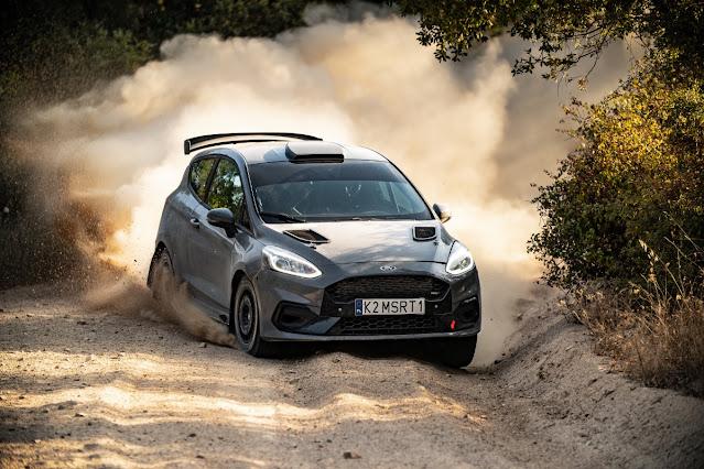 Ford Fiesta Rally 3 gravel testing